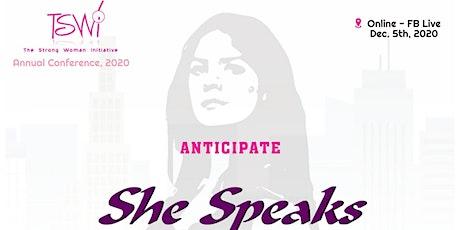 She Speaks tickets