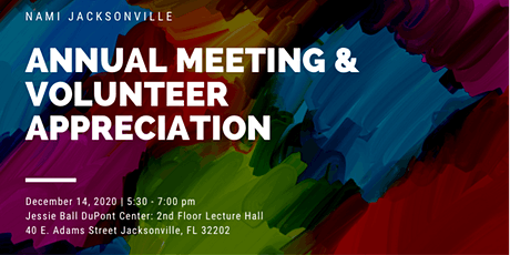 Annual General Membership Meeting and Volunteer Appreciation tickets