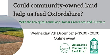 Could community-owned land help us feed Oxfordshire? tickets