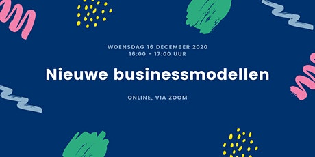 Webinar Nieuwe Businessmodellen tickets