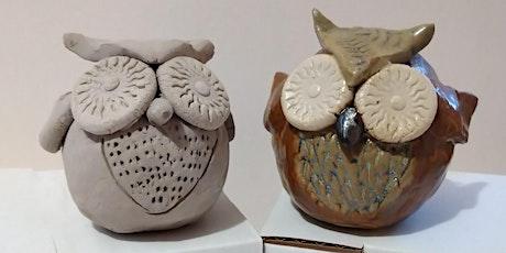 Clay Owls Online Workshop tickets
