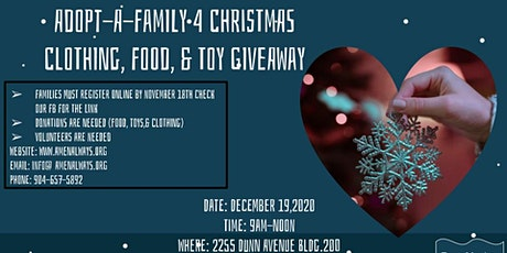 Adopt-A-Family 4 Christmas tickets