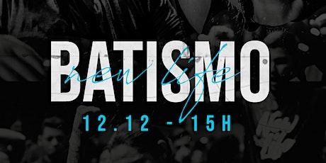 Batismo 12.12 - 15h CANCELADO billets
