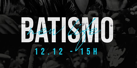 Batismo 12.12 - 15h CANCELADO ingressos