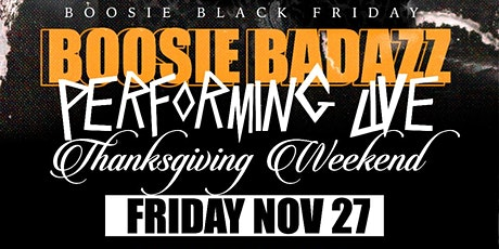 Boosie Thanksgiving Bash tickets