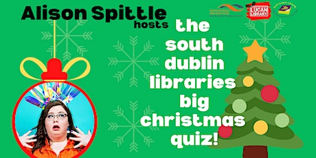 Alison Spittle hosts: The South Dublin Libraries Big Christmas Quiz! tickets