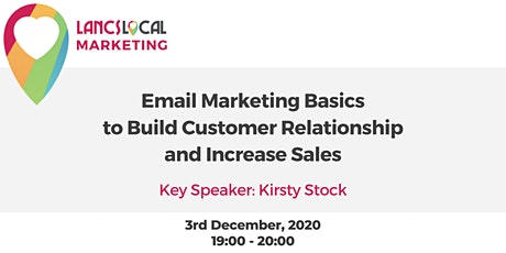 Email Marketing Basics to Build Customer Relationships and Increase Sales tickets