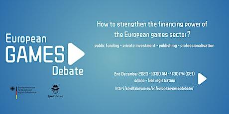 European Games Debate tickets
