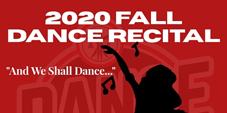 2020 Fall Dance Recital tickets