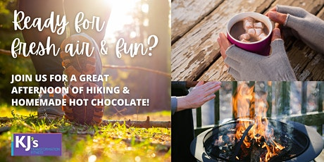 Hike & Homemade Hot Chocolate by the Fire tickets