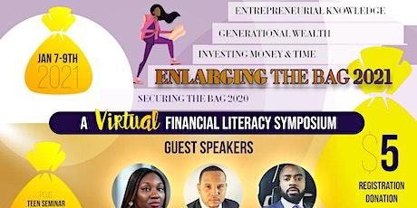 Enlarging the Bag 2021: A Financial Literacy Symposium tickets