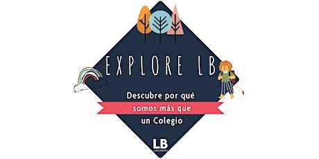 EXPLORE LB: Descubre nuestra esencia LB entradas
