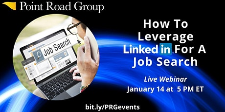 How To Leverage LinkedIn For A Job Search tickets