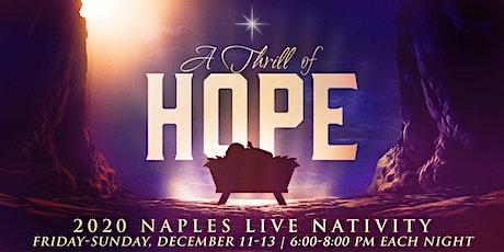 Naples Live Nativity tickets