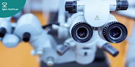 Spire Virtual Classroom - Mr Liam Sullivan, Consultant Ophthalmologist tickets