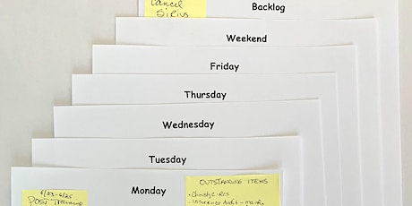 Agile @ Home Using Kanban tickets