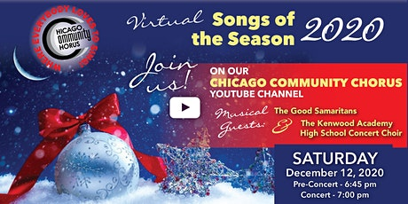 Virtual Songs of the Season tickets