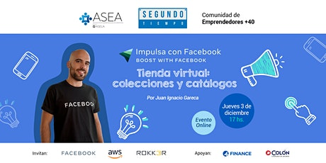 Segundo Tiempo: Impulsa con Facebook - Tienda virtual entradas