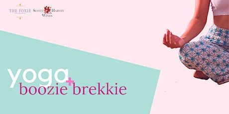 Yoga + Boozie Brekkie tickets