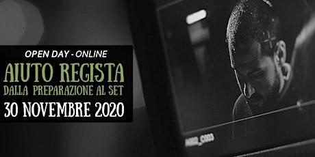 Open day online AIUTO REGIA biglietti