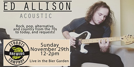 Ed Allison Acoustic at Stoudts tickets