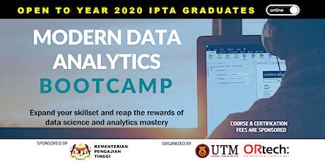 Modern Data Analytics Bootcamp tickets