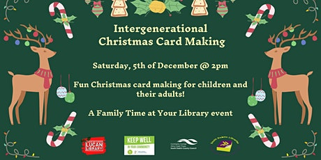 Family Time at your Library: Christmas Card Making with Aoife Munn tickets