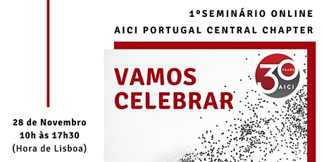 1º Seminário Online AICI PORTUGAL bilhetes