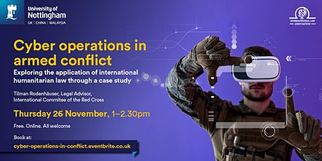 Cyber Operations in Armed Conflict tickets