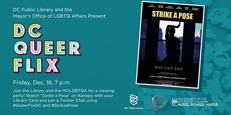 Strike A Pose Watch-Party with LGBTQ Affairs and DC Public Library tickets