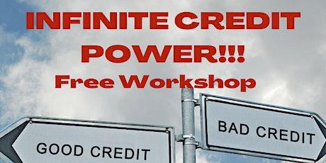 Infinite Credit Power tickets