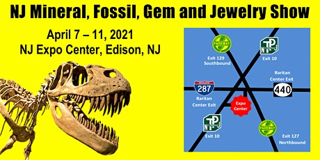 NJ Mineral, Fossil, Gem & Jewelry Show tickets