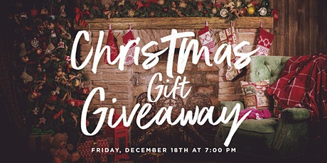 Christmas Gift Giveaway tickets