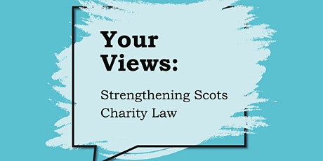 Scots Charity Law Engagement: Increased Regulatory Powers for OSCR tickets