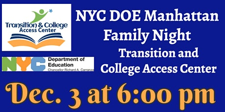 Manhattan Family Leadership: TCAC Overview tickets