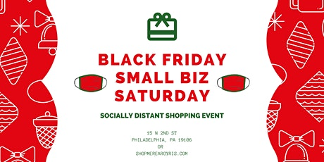 Black Friday Small Business Saturday Shopping Event - In-Person tickets