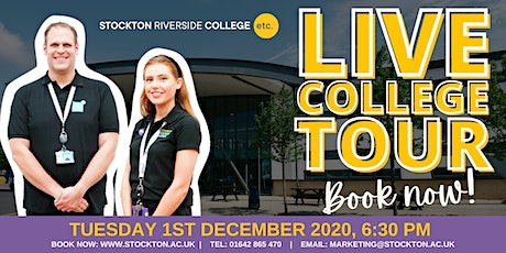 LIVE College Tour at Stockton Riverside College tickets