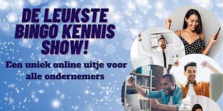 De grote Bingo Kennis Show voor ondernemers met comedian Raymon Hofkens! tickets