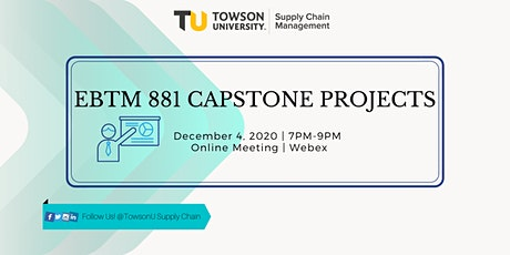 Fall 2020 Capstone Projects - Online Event tickets