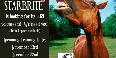 2021 Starbrite Volunteer Training tickets