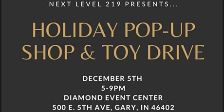Holiday Pop-Up Shop & Toy Drive tickets