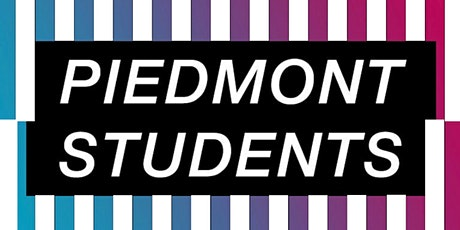 Piedmont  Students- Wednesday, December 2nd tickets