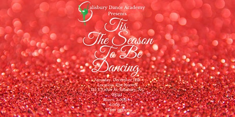 Tis The Season To Be Dancing tickets
