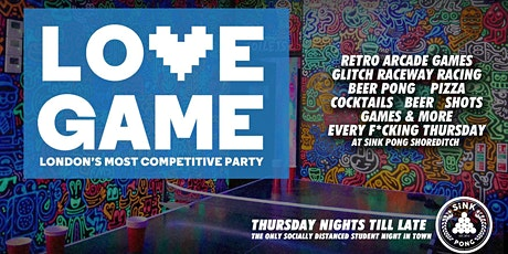 Love Game - Post Lockdown Celebration! tickets