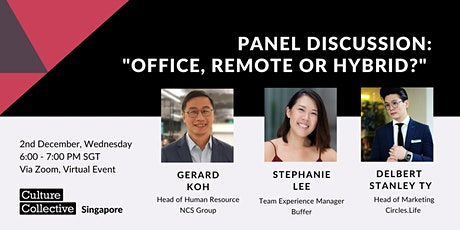 Office, Remote, or Hybrid? [Panel Discussion] tickets