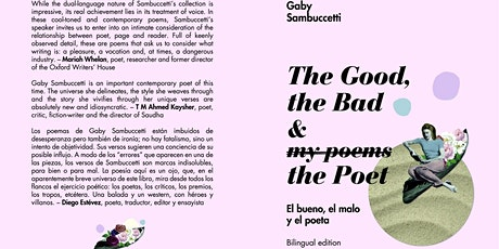 """""""The Good, the Bad & the Poet"""" Book Launch entradas"""