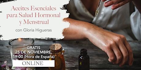 Aceites Esenciales para la Salud Hormonal y Menstrual entradas