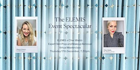 ELEMIS x Cher Webb: Expert Skin Prep and Makeup Removal Virtual Masterclass tickets