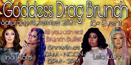 Goddess Drag Brunch - NOV tickets
