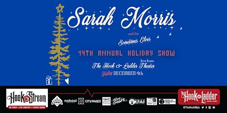 Sarah Morris & The Sometimes Elves - Live Studio Audience - HookStream tickets